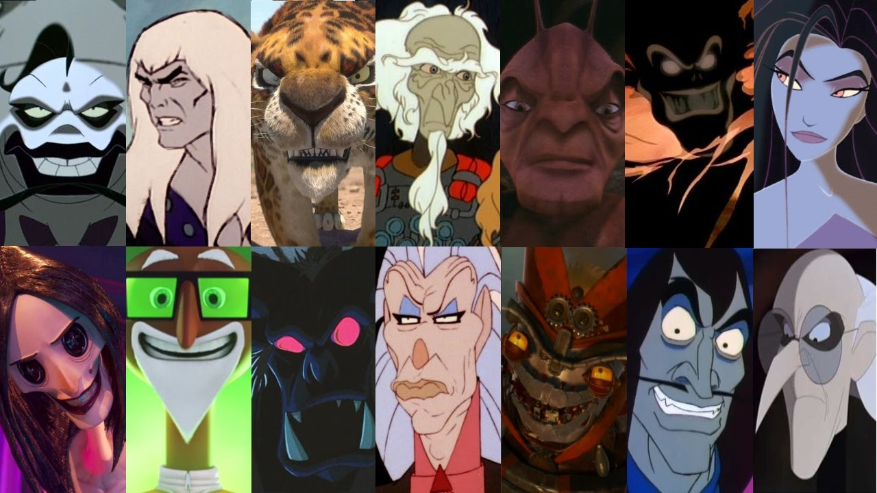 defeats of my favorite animated nondisney movie villains