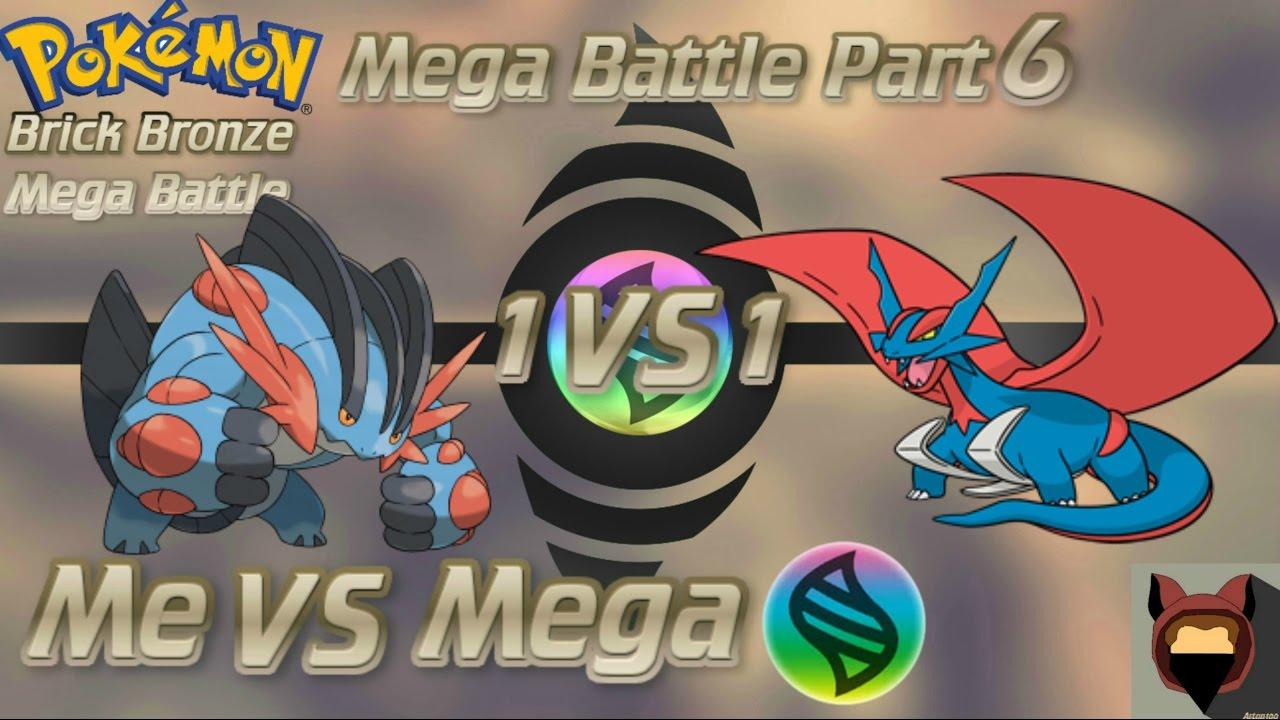 Roblox pokemon brick bronze mega evolve battle part 6 youtube - How to mega evolve a pokemon ...