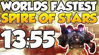 WORLD'S FASTEST SPIRE OF STARS SPEEDRUN! [13:55]