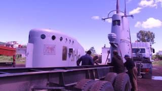 Ремонт памятника Героям-подводникам Л-16