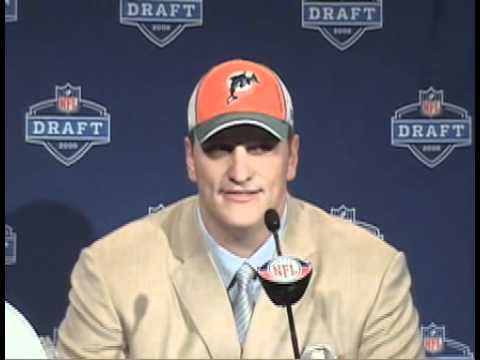 Jake Long Miami Dolphins 2008 NFL Draft Video  Interview