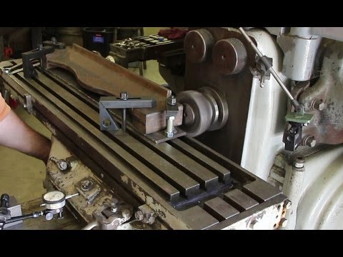 Vance Matcher Pressure Plate: Face Milling on a Horizontal Mill