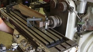 vance matcher pressure plate face milling on a horizontal mill