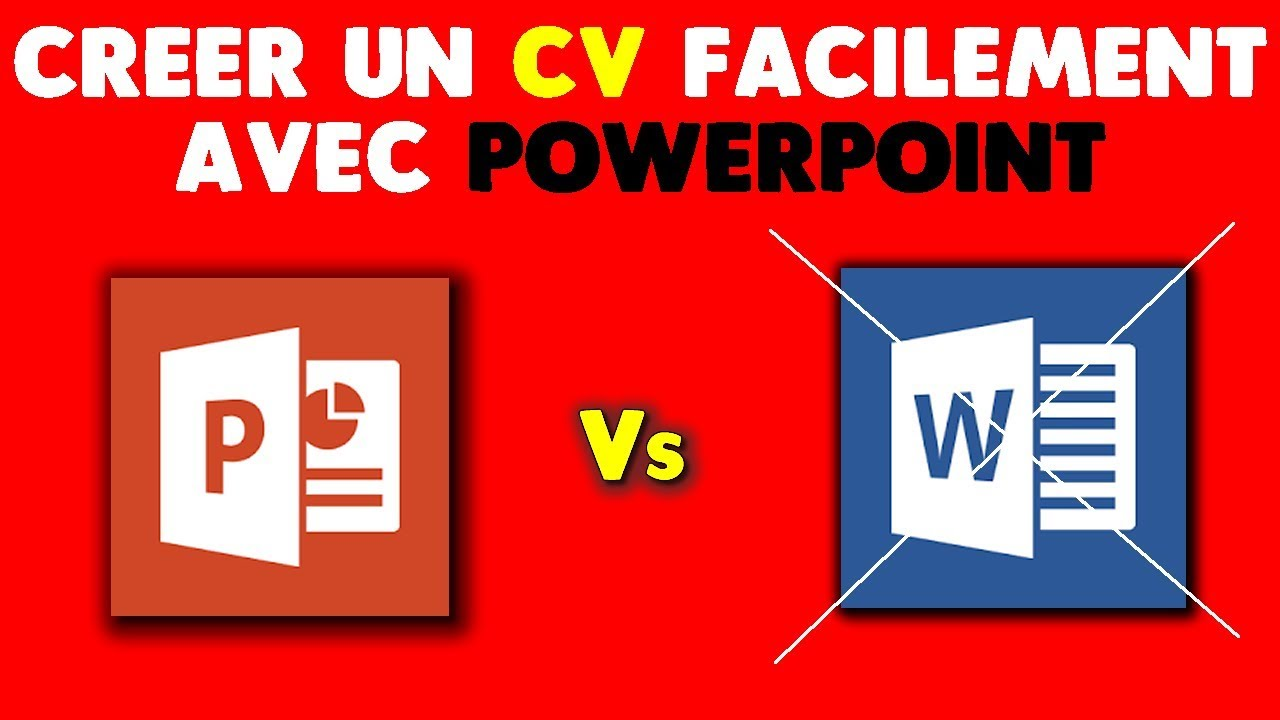 comment faire cv powerpoint