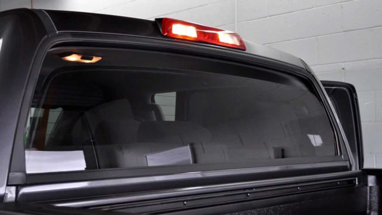 Tundra Back Window Tint YouTube - Truck back window picture