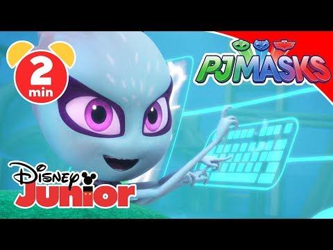 PJ Masks-Pyjamahelden - Clip: Babysitterin Luna   Disney Junior