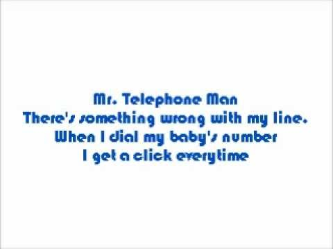 New Edition-Mr. Telephone Man Lyrics