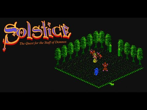 Let's Play NES Solstice - Quest For The Staff Of Demnos