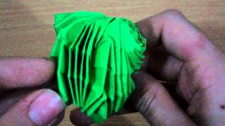 Origami Flasher Sphere (Not a Tutorial) Thumbnail