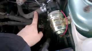 Как установить дополнительную помпу на ВАЗ-2110: схема, видео