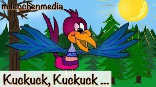 Kinderlieder deutsch - Kuckuck Kuckuck rufts aus dem Wald - Kinderlieder zum Mitsingen