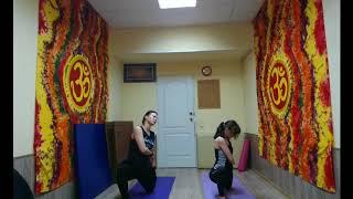 Hatha yoga flow   Хатха йога поток (средний уровень)