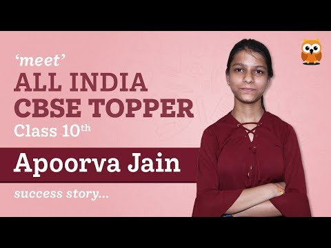 All India CBSE 10th Topper Apoorva Jain Interview - arihant's Padhaakoo
