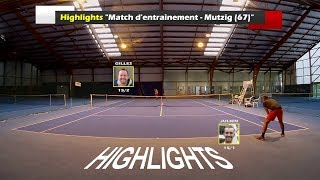 Julien (Stero 15/1) vs Gilles (LouGe 15/2) - Match amical - Highlights - 23/10/2017