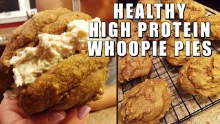 Healthy Whoopie Pies - High Protein