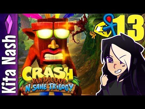 Crash Bandicoot N Sane Trilogy WARPED Gameplay: TIME TRIALS 6-10 |Part 13| PS4 Walkthrough