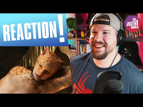 CATS – Official Trailer REACTION | The Justin Show!