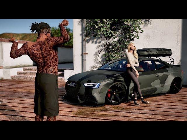GTA V NEXT-GEN Graphics 2017 | Project NVRX | Ultra
