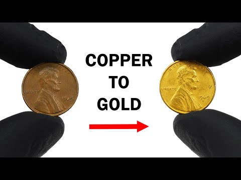 Turning pennies gold