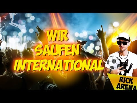 Wir saufen international (Europapokal) - Rick Arena (Lyric Video)