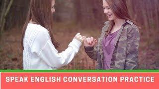 Speak English Conversation Practice  ● Learning English Online