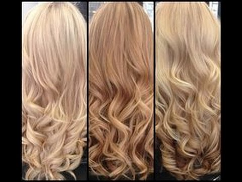 How To Tone Hair Using Wella T11 Amp T14 Toners Youtube