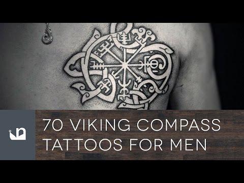 70 Viking Compass Tattoos For Men