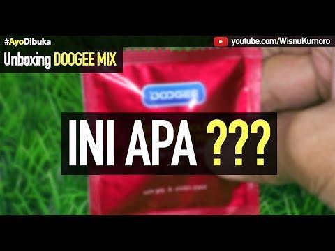 Unboxing DOOGEE MIX: Beli Hape Gratis KONDOM?? #AyoDibuka