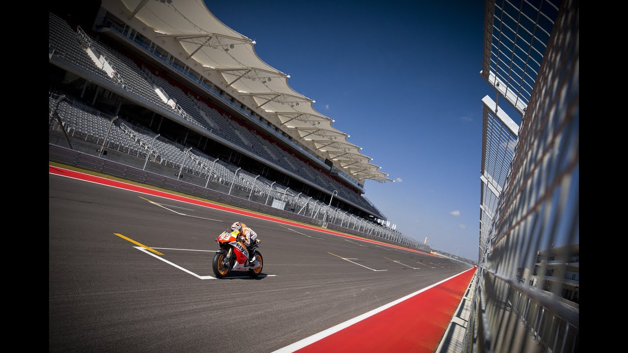 Repsol Honda MotoGP Team testing at The Circuit of The Americas - YouTube
