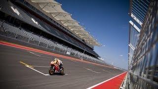 Repsol Honda MotoGP Team testing at The Circuit of The Americas