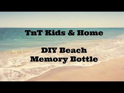 DIY Beach Memory Bottle Craft with Dollar Tree Supplies
