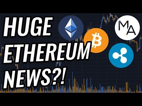 HUGE Ethereum News! Incoming Pump In Bitcoin & Crypto Markets?! BTC, ETH, XRP, & Cryptocurrency News