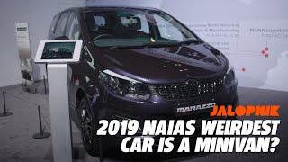The Weirdest Car at 2019 NAIAS Was a Minivan?
