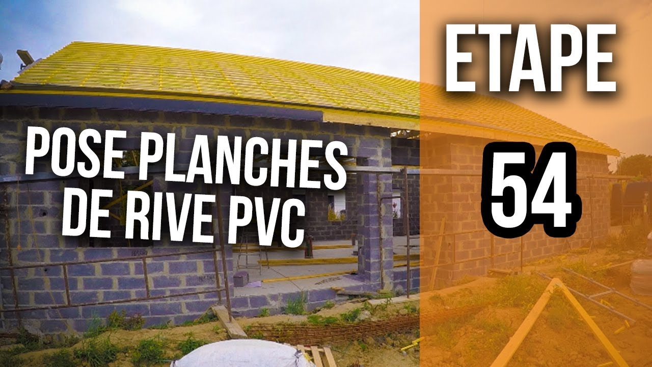Comment Poser Des Planches De Rive Pvc Etape 54 Youtube