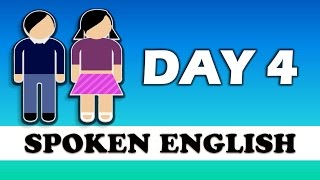 ✔ 20 Days Spoken English Learning Challenge   ✔ Spoken English Learning Video- DAY 4