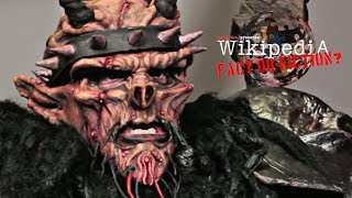 GWAR's Oderus Urungus - Wikipedia: Fact or Fiction?