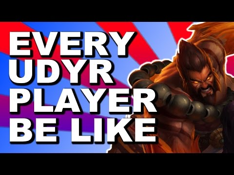 EVERY UDYR PLAYER BE LIKE || Aigey