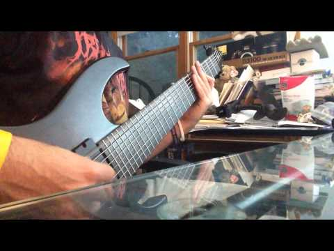 agile 8 string drop e djent