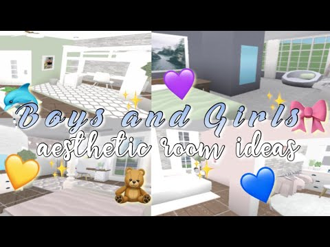 Bloxburg Boys Girls Aesthetic Room Ideas Youtube