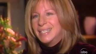 """20/20 Barbra Streisand Interview """"A High Note"""" with Barbara Walters"""