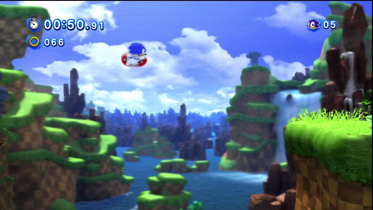 Sonic Generations PS3 Demo Gameplay