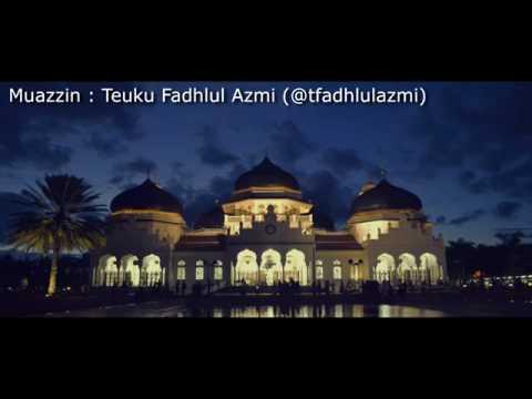Suara merdu Adzan anak Aceh (Bireuen)