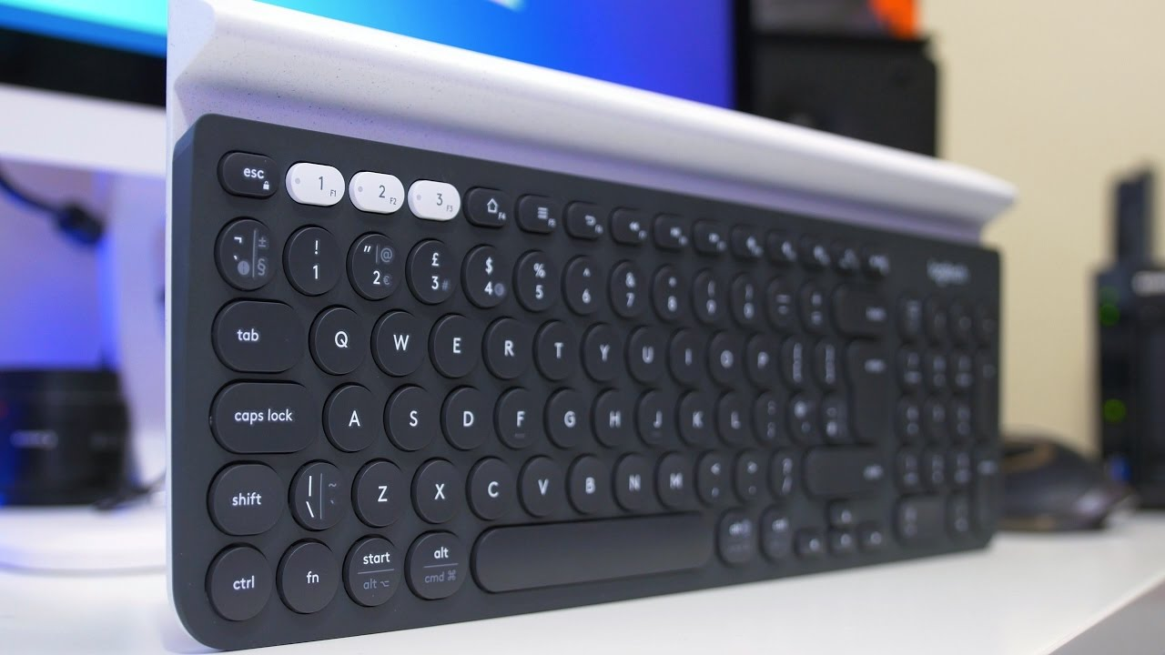 Logitech K780 Multi-Device Wireless Keyboard Review (4K) - YouTube f382f7dabcba4