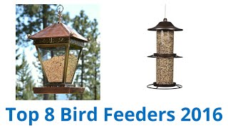 Video 8 Best Bird Feeders 2016 download MP3, 3GP, MP4, WEBM, AVI, FLV Juli 2018