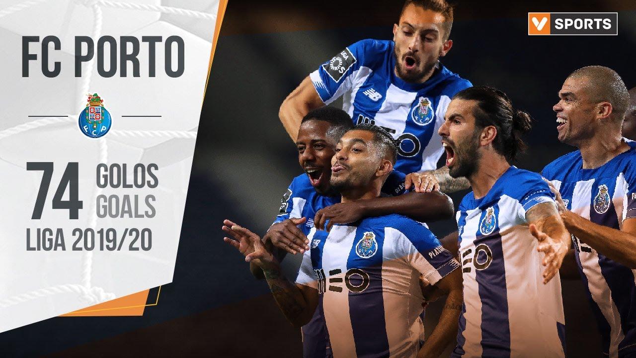 FC Porto: Os 74 golos do título (Liga 19/20)