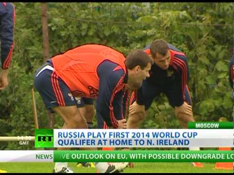 First Test - Capello trains Russia for N. Ireland World Cup qualifier