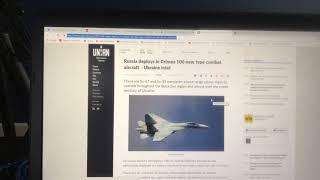 Ukraine Claims Russia Deploys 100 Aircraft to Crimea