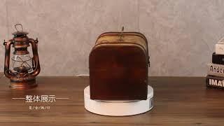 중국 골동품 궤짝 비즈보관함 보물상자가방