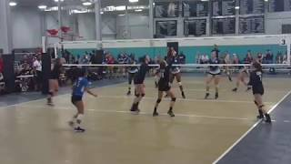 Olivia Gowin #7 CGVA Highlights 18-1 Volleyball