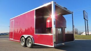 Pizza Mobile Food Trailer